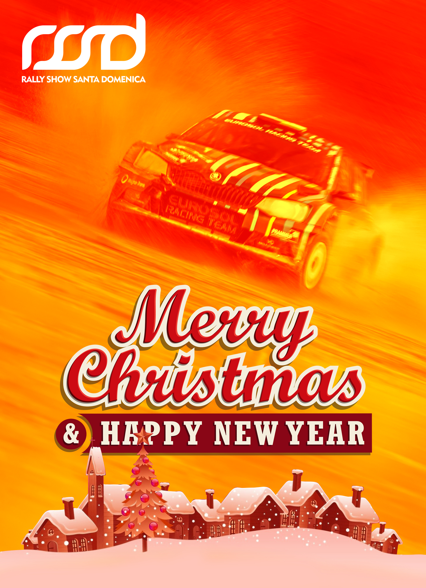 Ho Ho Ho Merry Christmas.Ho Ho Ho Merry Christmas Happy New 2019 Year Rally Show